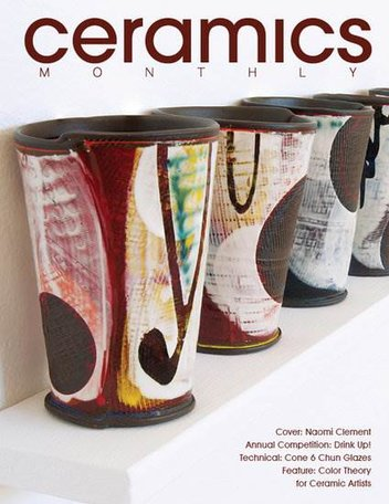 Ceramics Monthly Magazine