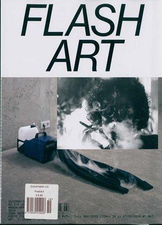 Flash Art International Magazine