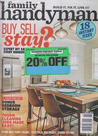 The Family Handyman Magazine