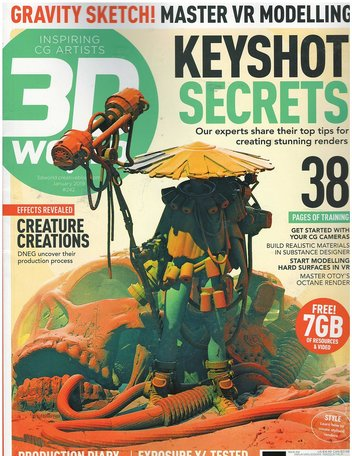 3D World Magazine